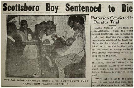 the scottsboro trials There are many similarities between the scottsboro trials and to kill a mockingbird one of the main ones, was the amount of prejudice present in both.